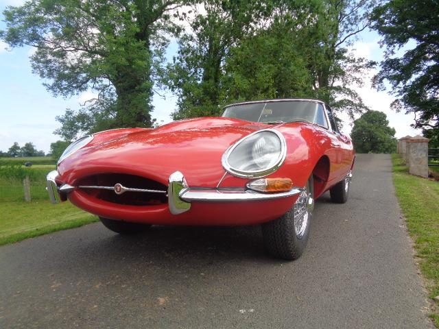 Jaguar Series 1 E-Type Roadster 1962