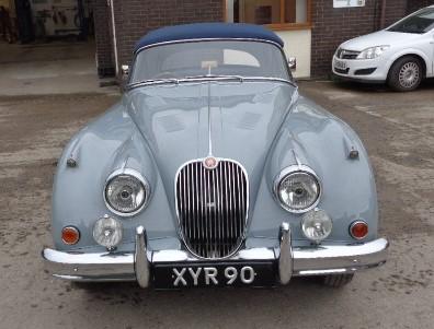 1959 Jaguar X150 Drophead